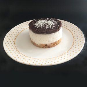 Entremets sable coco chocolat