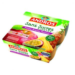 compote andros pomme ananas passion