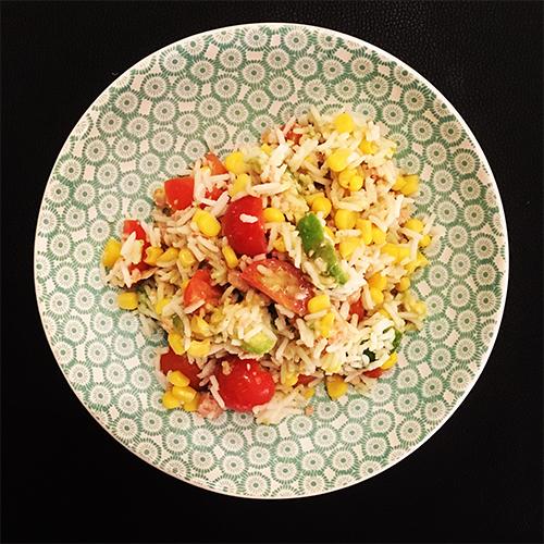 Salade De Riz Hivernale Au Thon Cuisine Moi
