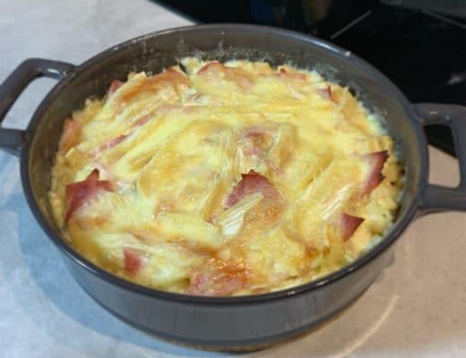 Croziflette au jambon blanc