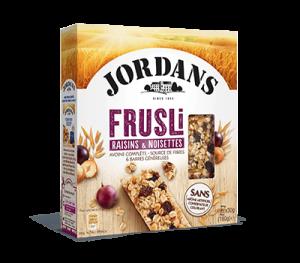 produit frusli noisettes raisins