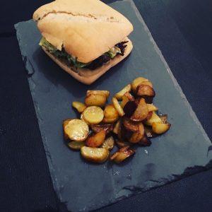 Burger au canard