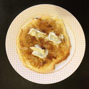 tarte aux oignons et au fromage de chèvre