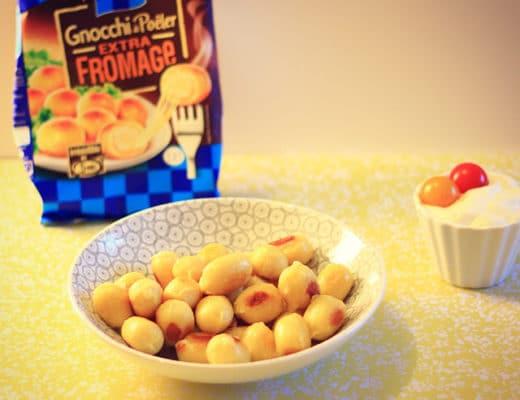 Gnocchi à poêler extra fromage
