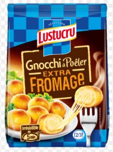 Lustucru packaging gnocchi à poeler