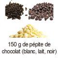 150 g pepites 3 chocolats