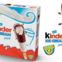 Glaces kinder stick
