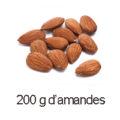 200 g amandes