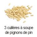 3 cas pignon de pin