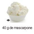 40 g de mascarpone