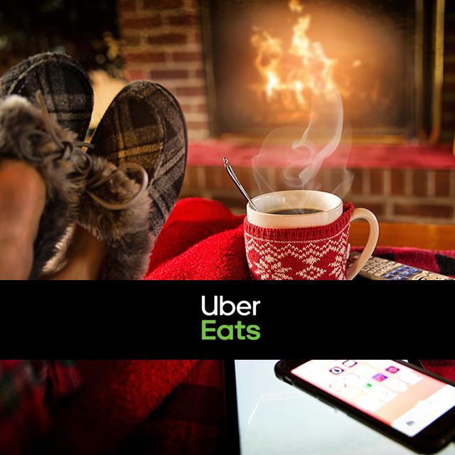 Uber Eats livre 24h-24