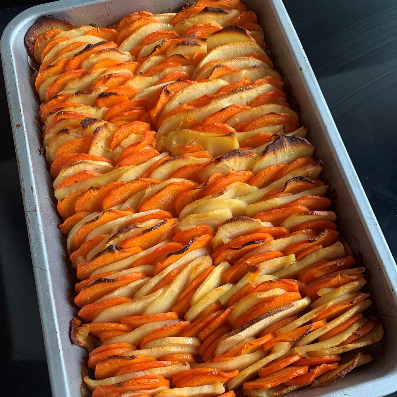 Tian de carottes et panais