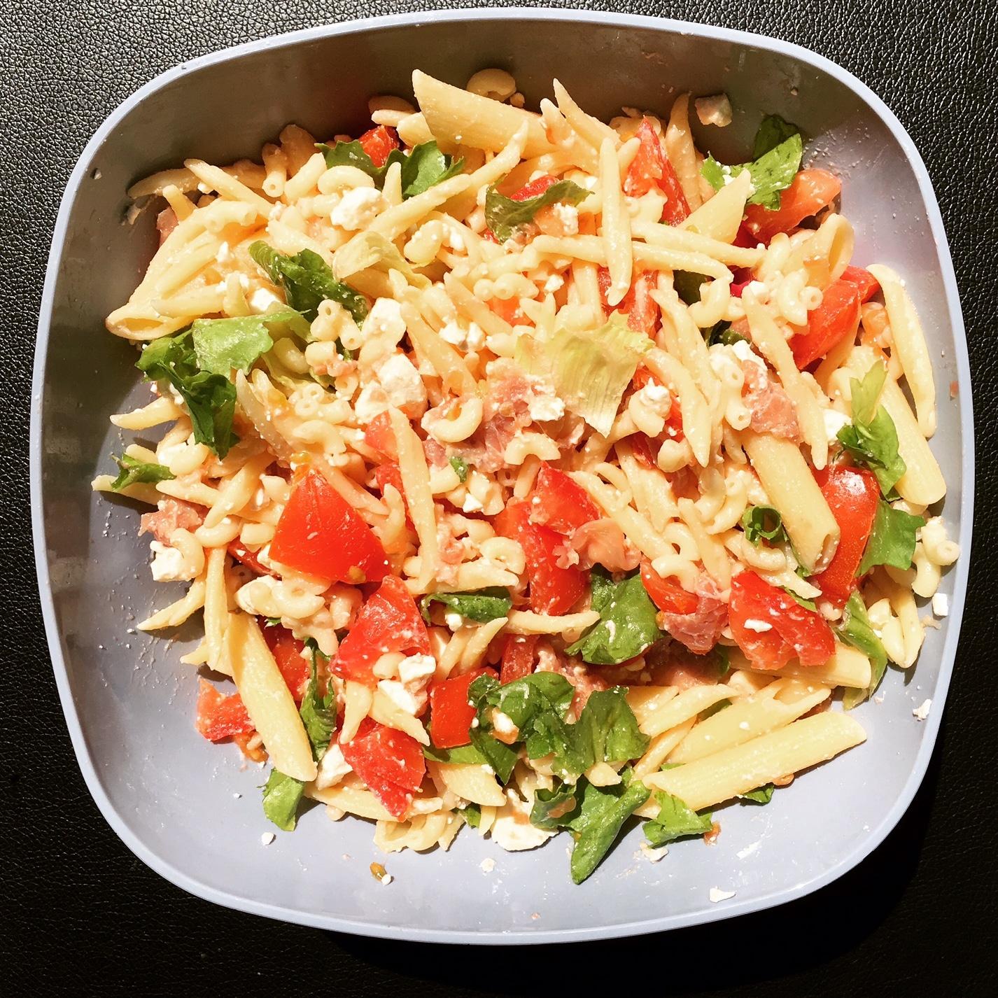 salade de pates a l'italienne