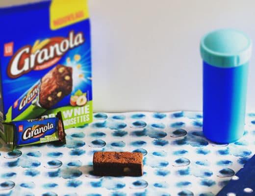 brownie aux noisettes Granola