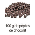 100 g pepites de chocolat