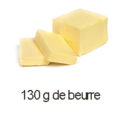 130 g de beurre