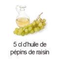 5 cl huile de pepins de raisin