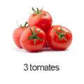 3 tomates