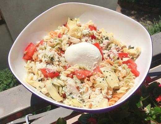 salade de pates aux legumes