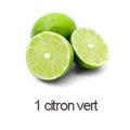 1 citron vert