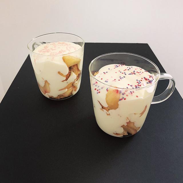 Trifle aux peches