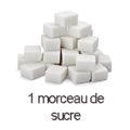 1 morceau de sucre