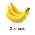 2 bananes