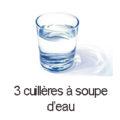 3 cas d'eau